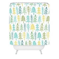 Deny Designs Heather Dutton Oh Christmas Tree Frost Shower Curtain