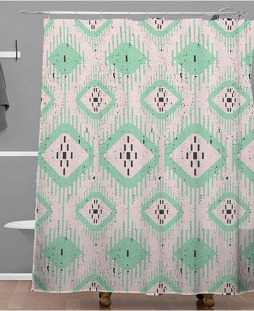 Deny Designs Holli Zollinger Talulah Ikat Shower Curtain