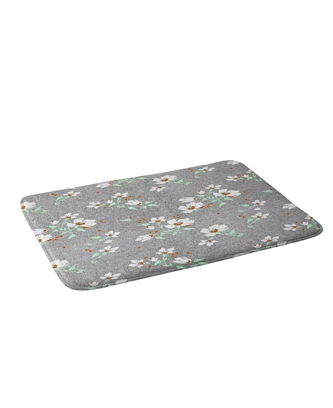 Deny Designs Holli Zollinger Linen Mint Bath Mat