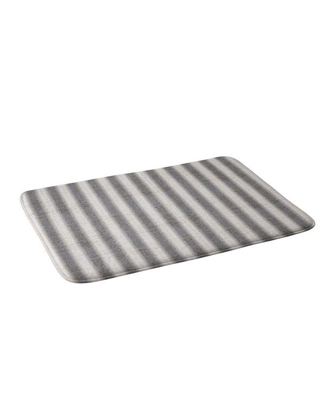 Deny Designs Holli Zollinger French Linen Seaside Stripe Bath Mat
