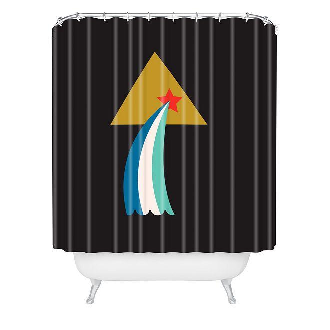 Deny Designs Holli Zollinger Zodiac Aquarius Shower Curtain