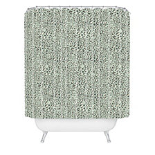 Deny Designs Holli Zollinger Deco Leopard Shower Curtain