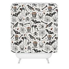 Deny Designs Heather Dutton Halloween Xray Shower Curtain
