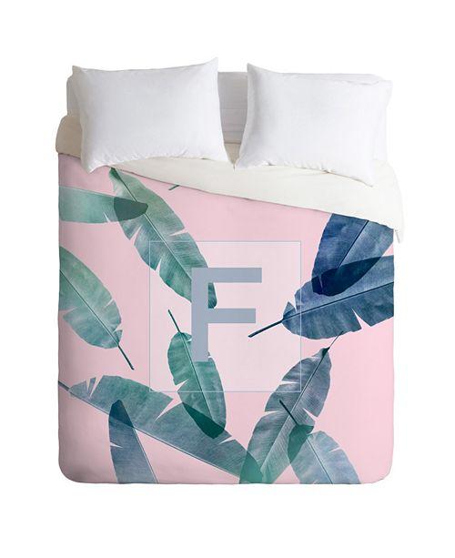 Deny Designs Iveta Abolina Peaches N Cream F Twin Duvet Set