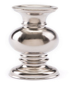 Matt Silver Candle Holder Matt Silver
