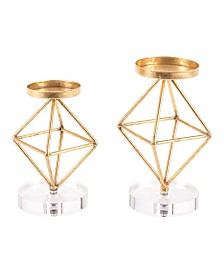Zuo Rombo Candle Holders