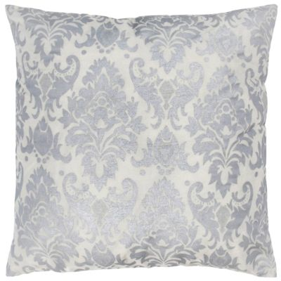 """18"""" x 18"""" Damask Poly Filled Pillow"""