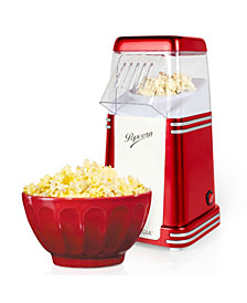 Nostalgia Retro 8-Cup Hot Air Popcorn Maker