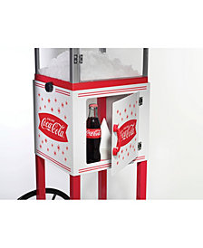 Nostalgia Scc399Coke Coca-Cola Snow Cone Cart - 48 Inches Tall