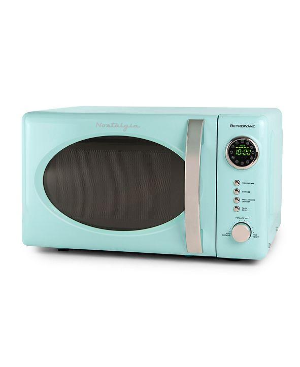 Nostalgia Retro 0.7 Cubic Foot Mircowave Oven