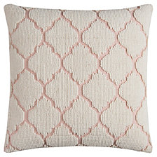 """Rizzy Home 20"""" x 20"""" Hexagon Design Pillow Poly Filled"""