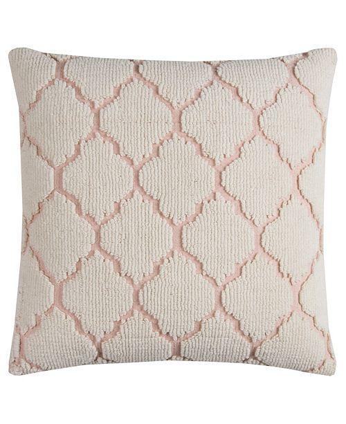 """Rizzy Home 20"""" x 20"""" Hexagon Design Pillow Collection"""