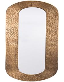 Skinny Mirror Brass