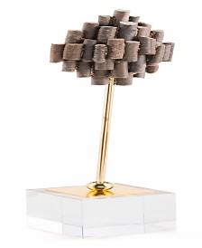 CLOSEOUT! Zuo  Large Brown Stone Pedestal