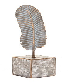 Zuo Distressed Feather Figurine