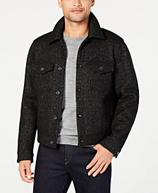 Michael Kors Mens Lurex Jean Jacket