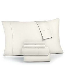 Westport Solid 6-Pc King Sheet Set, 1500 Thread Count Cotton Blend Sateen
