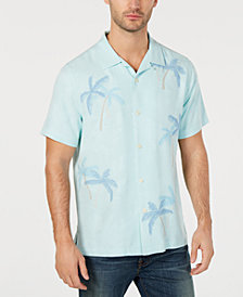 Tommy Bahama Men's Scattered Palms Silk Shirt