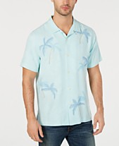 5ee09230ee7 Tommy Bahama Mens Casual Button Down Shirts   Sports Shirts - Macy s