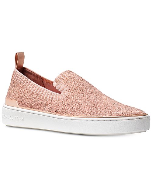 c2234e35b2eba Michael Kors Skyler Slip-On Sneakers   Reviews - Athletic Shoes ...