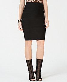 GUESS Zip Bandage Skirt