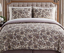 VCNY Home Avon 8-Pc. Full Floral Comforter Set