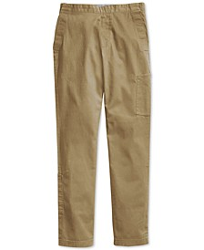 Men's Seated Fit Chino Pants with Velcro® Closure