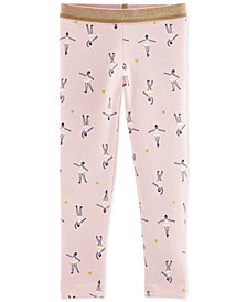 Carter's Toddler Girls Ballerina-Print Leggings