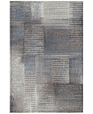 Trisha Yearwood Home Atlanta Rain Multi/Dusk 5' x 7'6