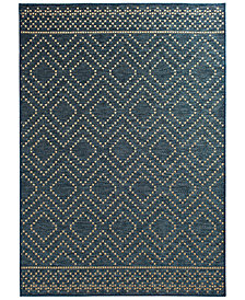 "Trisha Yearwood Home Sidra Border Indoor/Outdoor 6'7"" x 9'6"" Area Rug"