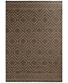 "Trisha Yearwood Home Sidra Border Indoor/Outdoor 7'10"" x 9'10"" Area Rug"