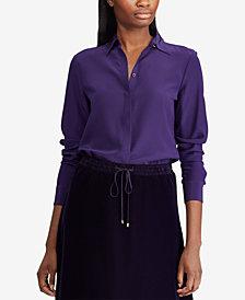 Lauren Ralph Lauren Silk Shirt