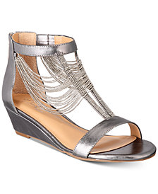 Thalia Sodi Triciah Wedge Sandals, Created for Macy's