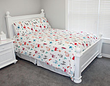 Larry Llama Flannel Fleece Bedding Collection