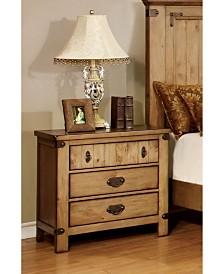 Sesco 3-drawer Nightstand