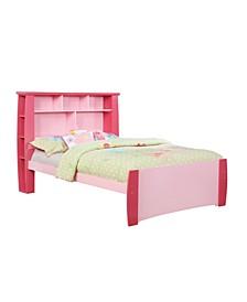Devon Full Bookcase Platform Bed