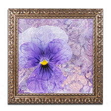 Cora Niele 'Viola - Secret Love' Ornate Framed Art