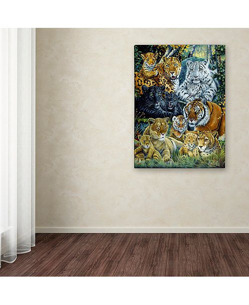 """Trademark Global Jenny Newland 'The Mother's Pride' Canvas Art, 18"""" x 24"""""""