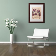 """Abril Andrade 'Nuestro Amor Eterno' Matted Framed Art, 11"""" x 14"""""""
