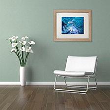 Michael Blanchette Photography 'Ice Vortex' Matted Framed Art