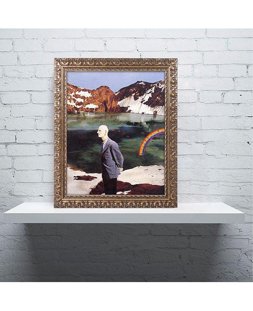 "Trademark Global Nick Bantock 'Wicklow' Ornate Framed Art, 11"" x 14"""
