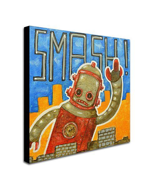 "Trademark Global Craig Snodgrass 'Smash!' Canvas Art, 24"" x 24"""
