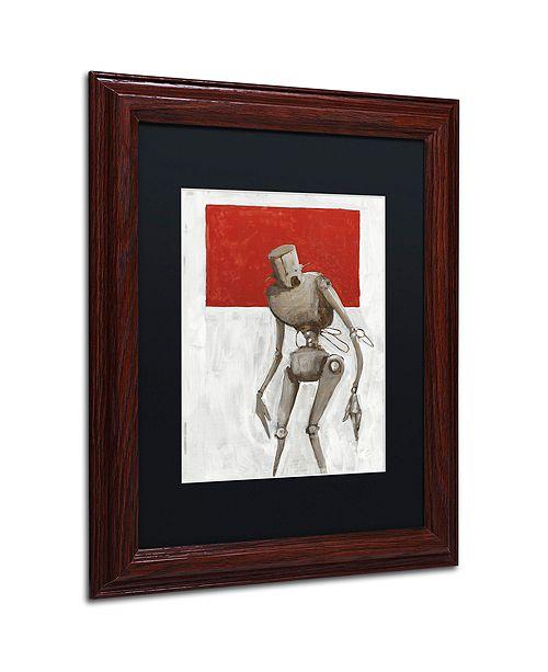 """Trademark Global Craig Snodgrass 'Bleak' Matted Framed Art, 11"""" x 14"""""""