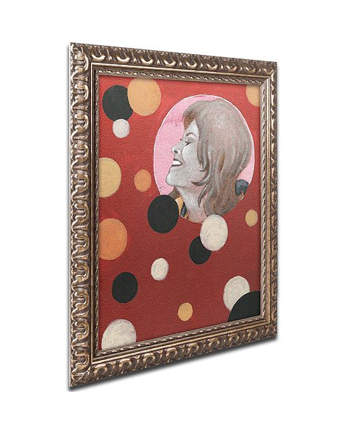"Trademark Global Craig Snodgrass 'Astro-Anna II' Ornate Framed Art, 11"" x 14"""