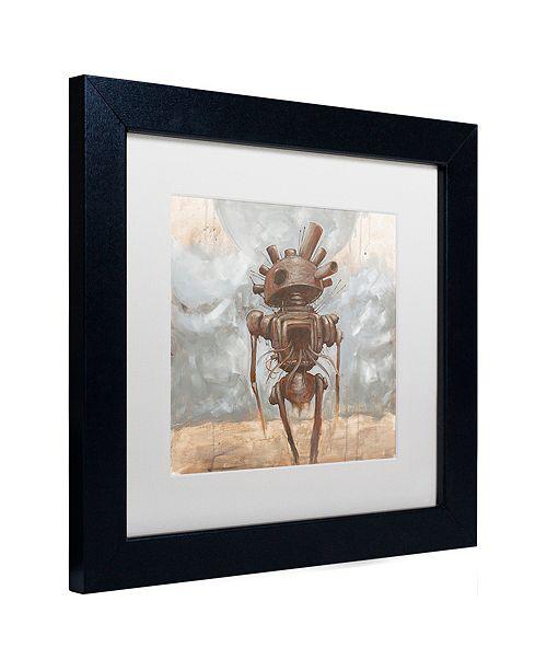 """Trademark Global Craig Snodgrass 'Brought the War Home' Matted Framed Art, 11"""" x 11"""""""