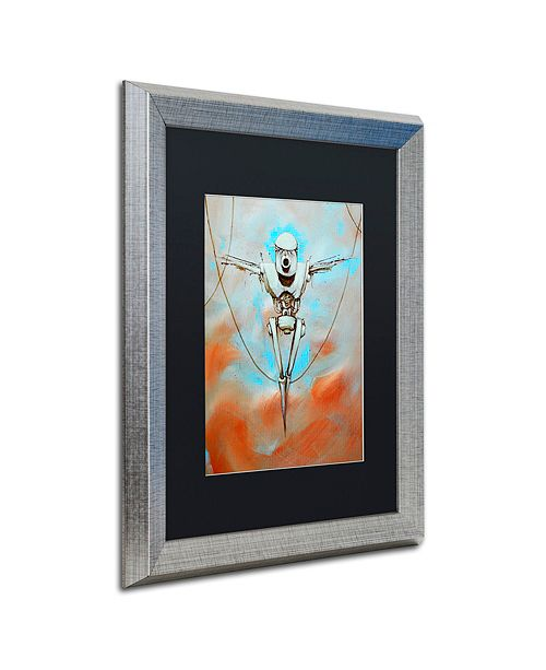 "Trademark Global Craig Snodgrass 'Martyr' Matted Framed Art, 16"" x 20"""