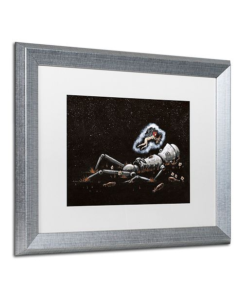 """Trademark Global Craig Snodgrass 'Last Call' Matted Framed Art, 16"""" x 20"""""""