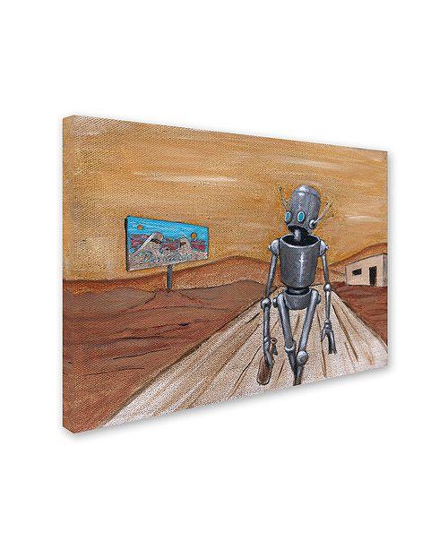"Trademark Global Craig Snodgrass 'Paradisio' Canvas Art, 14"" x 19"""