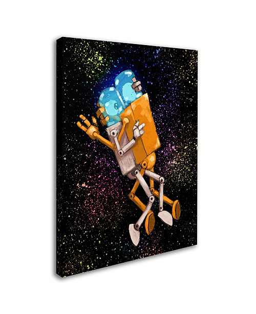 "Trademark Global Craig Snodgrass 'Robo Love' Canvas Art, 24"" x 32"""