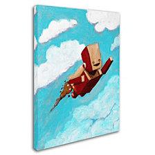Craig Snodgrass 'Rocket Bot' Canvas Art